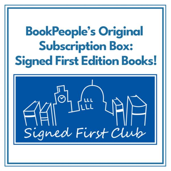Signed First Edition Book Subscription