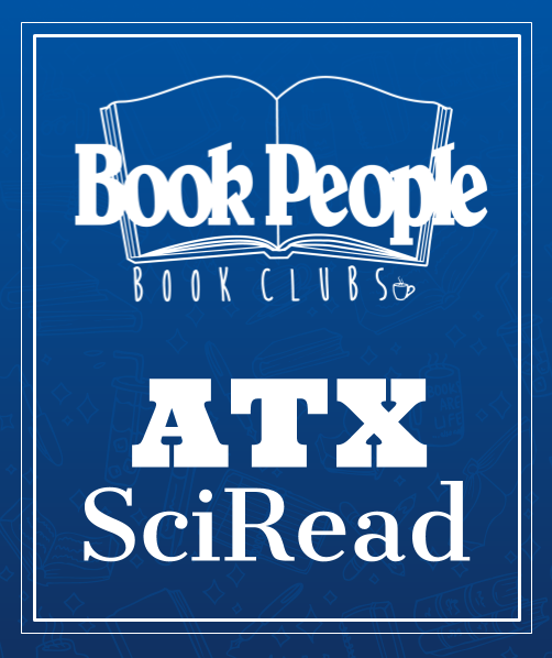 ATX SciRead Book Club Logo