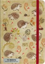 2021 Hedgehogs 16-Month Planner