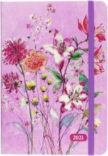 2021 Purple Wildflowers 16-Month Planner