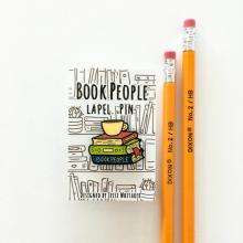 BookPeople enamel pin