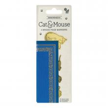 Cat and Mouse Bookminders Bookmark