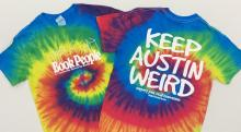 BookPeople Keep Austin Weird Shirt -- front and back