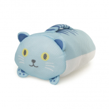 Blue Handy Cat Laundry Bag