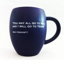 Davy Crockett Quote Mug